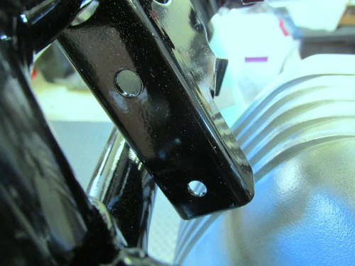 Frame Brackert for Steering Damper Ball