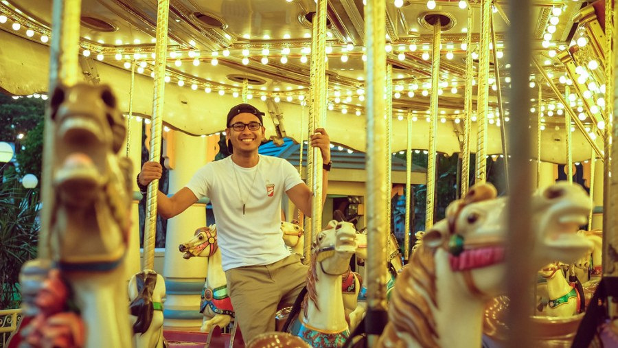 Agila Ride at Enchanted Kingdom