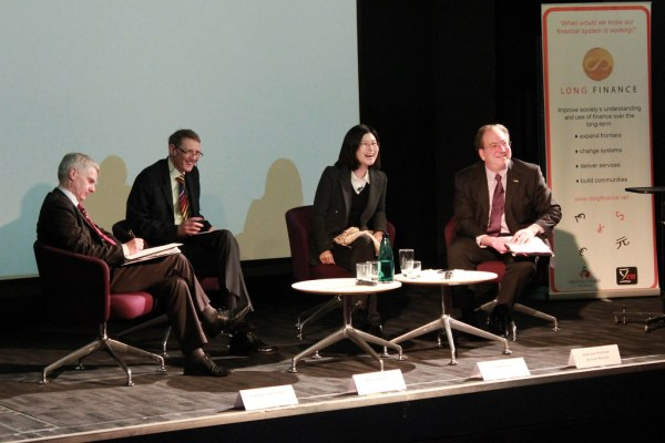 Panel members at the 2014 Long Finance Conference: 'Measur ...