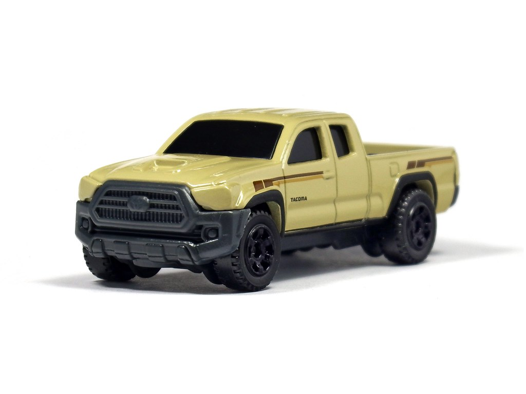 Matchbox 16 Toyota Tacoma Shown Here Without The Tent