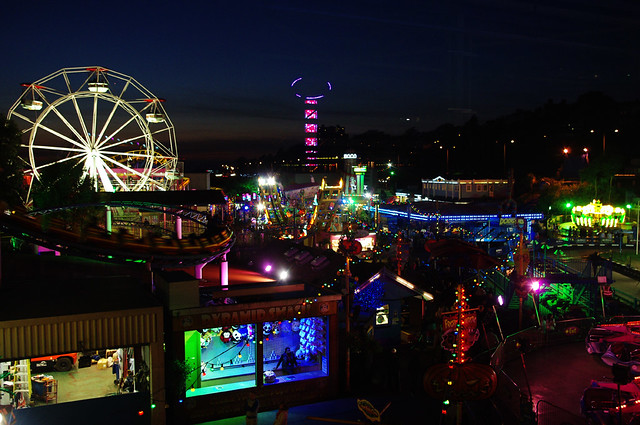 D12084. Southend Funfair.
