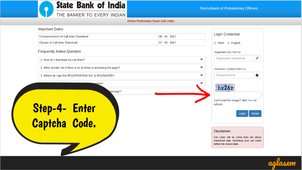 SBI PO Admit Card 2019 Download Link