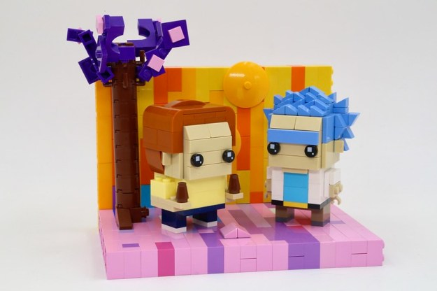 Rick and Morty Lego Brickheadz