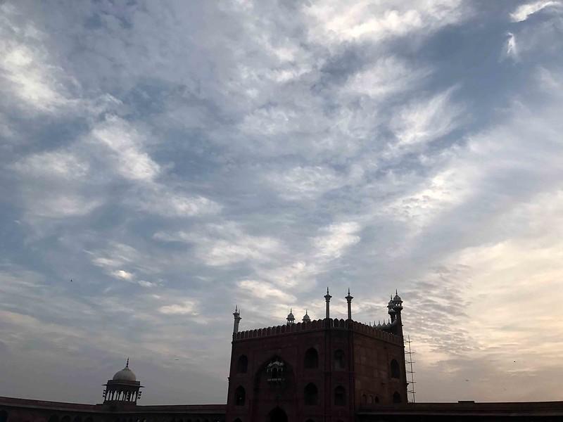 Photo Essay - The Deceitful Sky Over Our Jealous Jama Masjid, Old Delhi