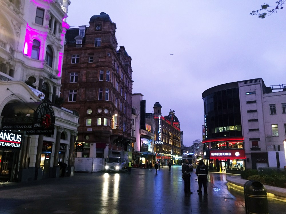 10 Dec 2016: Leicester Square | London, England
