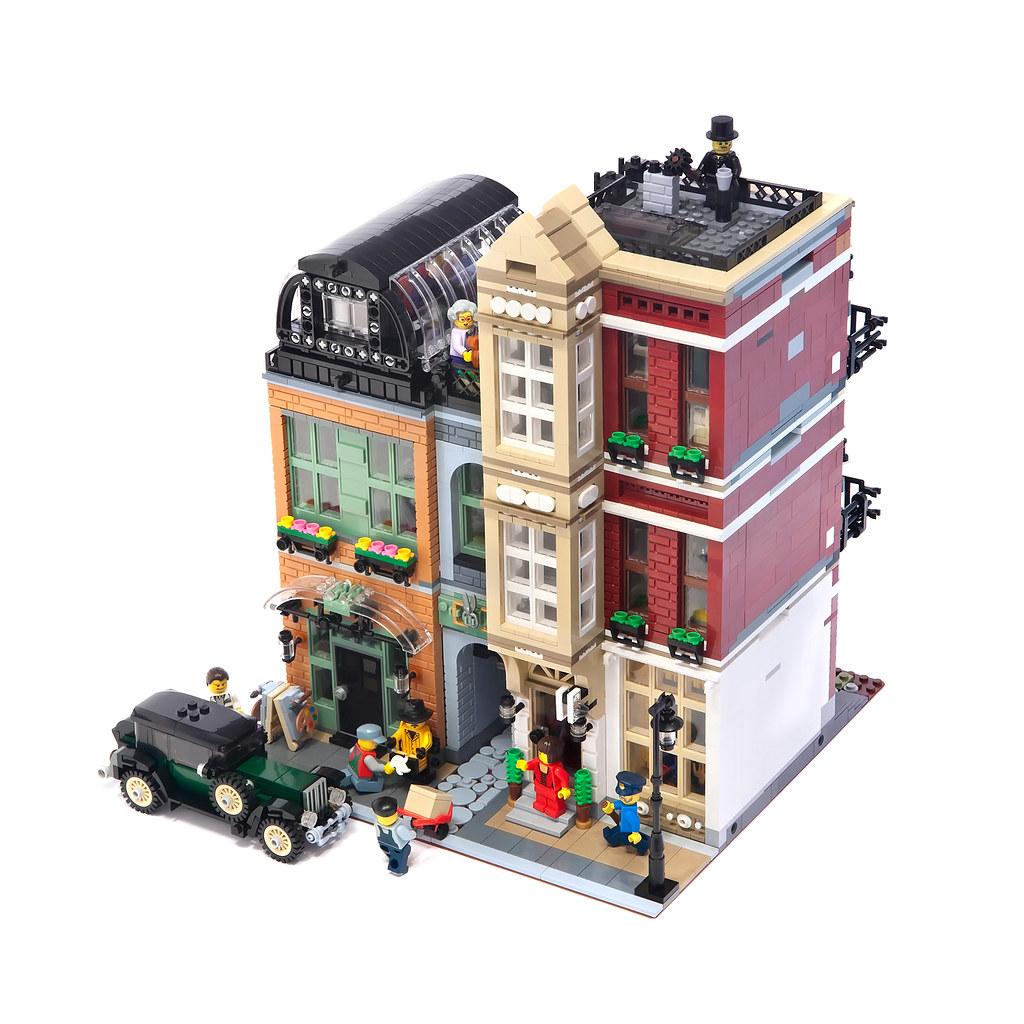 LEGO Modular Bootblack Street Il A Tout Dun Vrai