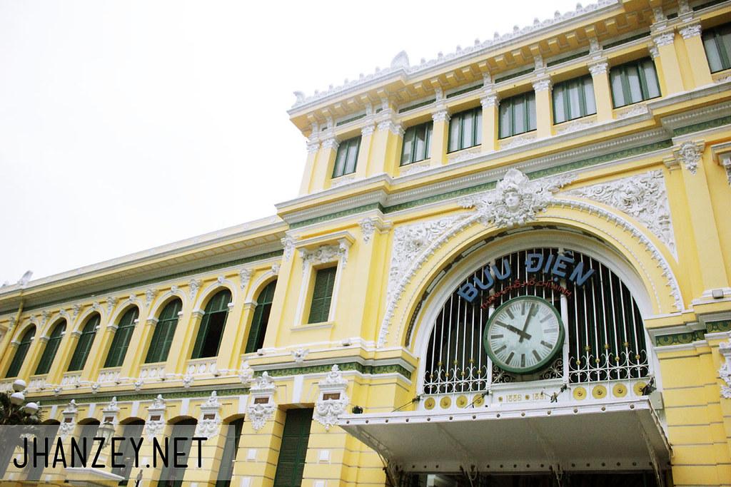 The Post Office - Ho Chi Minh City, Vietnam