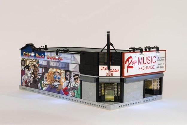 LEGO Ray's Music Exchange