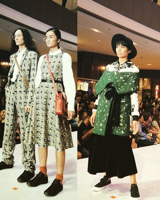 Converse fashion show