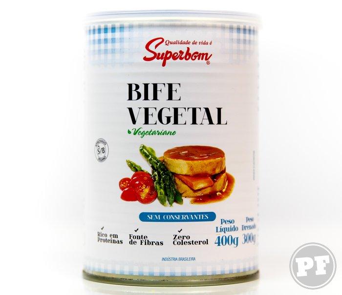 Bife Vegetal por PratoFundo.com