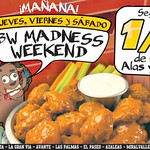 Bufalle wings MADNESS weekend - 23jul14