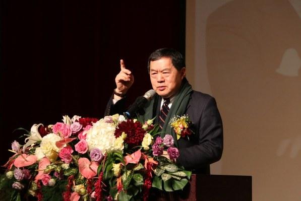校董會徐旭東董事長親自出席