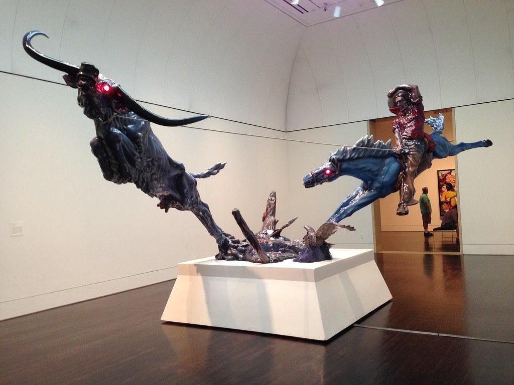 Blanton Museum Progress II By Luis Jimnez On July 12