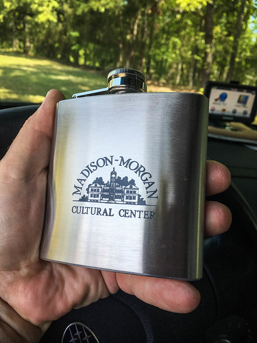 Madison School Flask