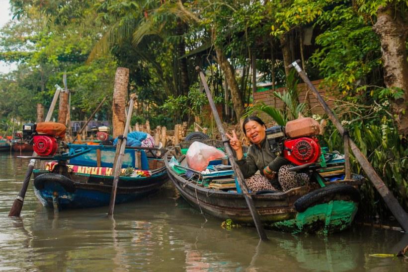 lokale vietnamesere på tur