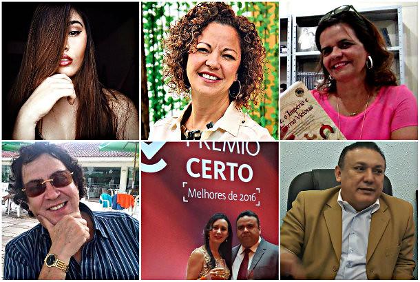 Holofotes em 6 VIPs. Ana Elvira, Elisa, Tremonte, Ana Caroline, Úrsula e Osmando, Holofotes - Ana Caroline, úrsula, Ana Elvira...