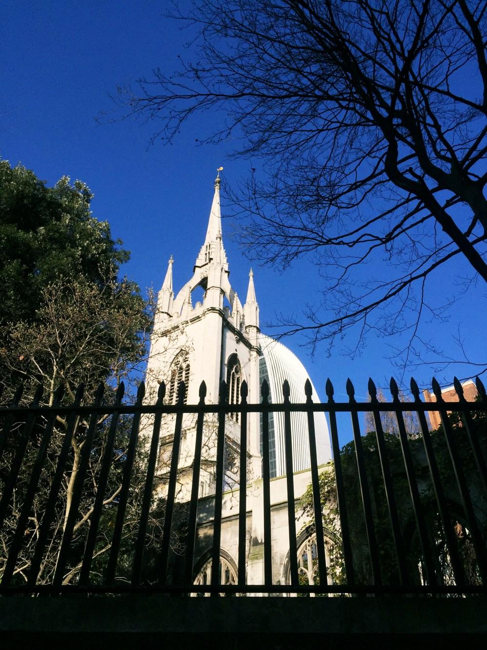 11 Dec 2016: St Dunstan in the East | London, England