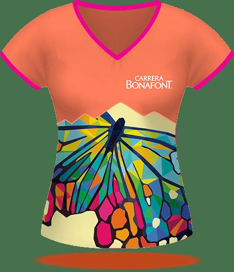 Playera Carrera Bonafont 2017
