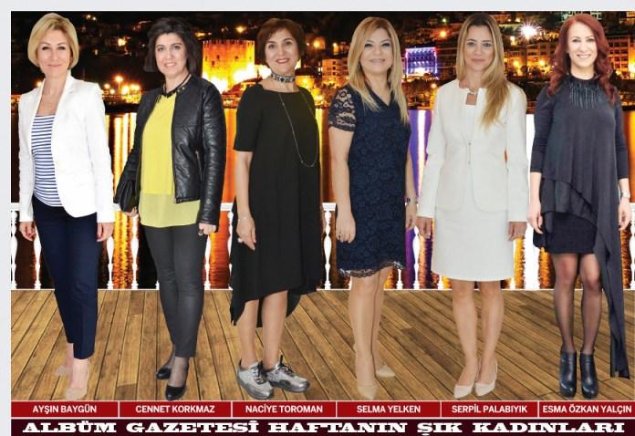 Ayşın Baygün, Cennet Korkmaz, Naciye Toraman, Selma Yelken, Serpil Palabıyık, Esma Özkan Yalçın