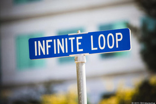 Hay celebración en la sede de Apple en Cupertino, California, EEUU: