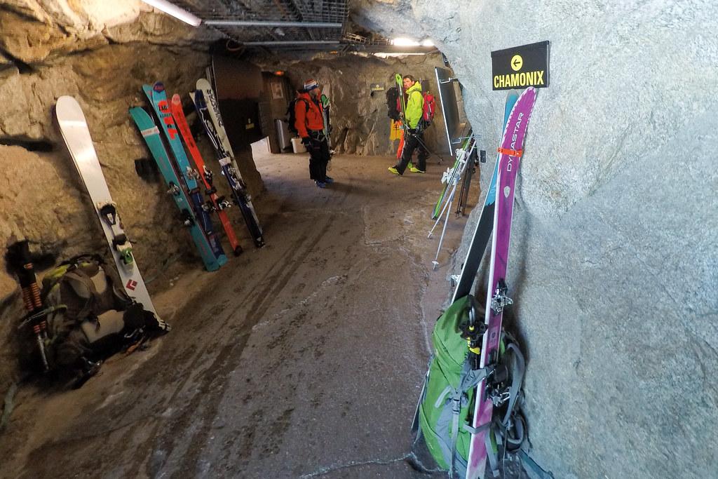 Aiguille du Midi tunnels
