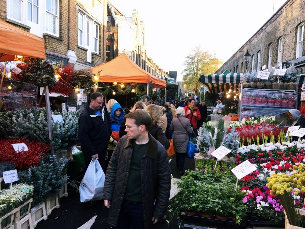 11 Dec 2016: Columbia Road Flower Market | London, England