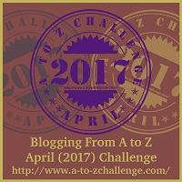 #AtoZChallenge2017 Badge
