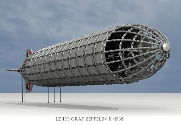 Graf Zeppelin II Airship (1937)   Firstly I would like to ...