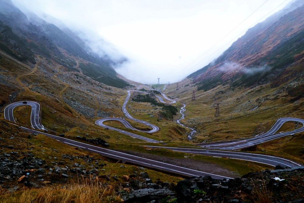 road_romania