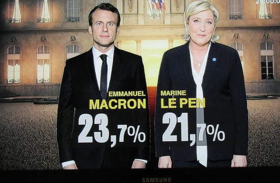 Results of the first round of French presidential elections