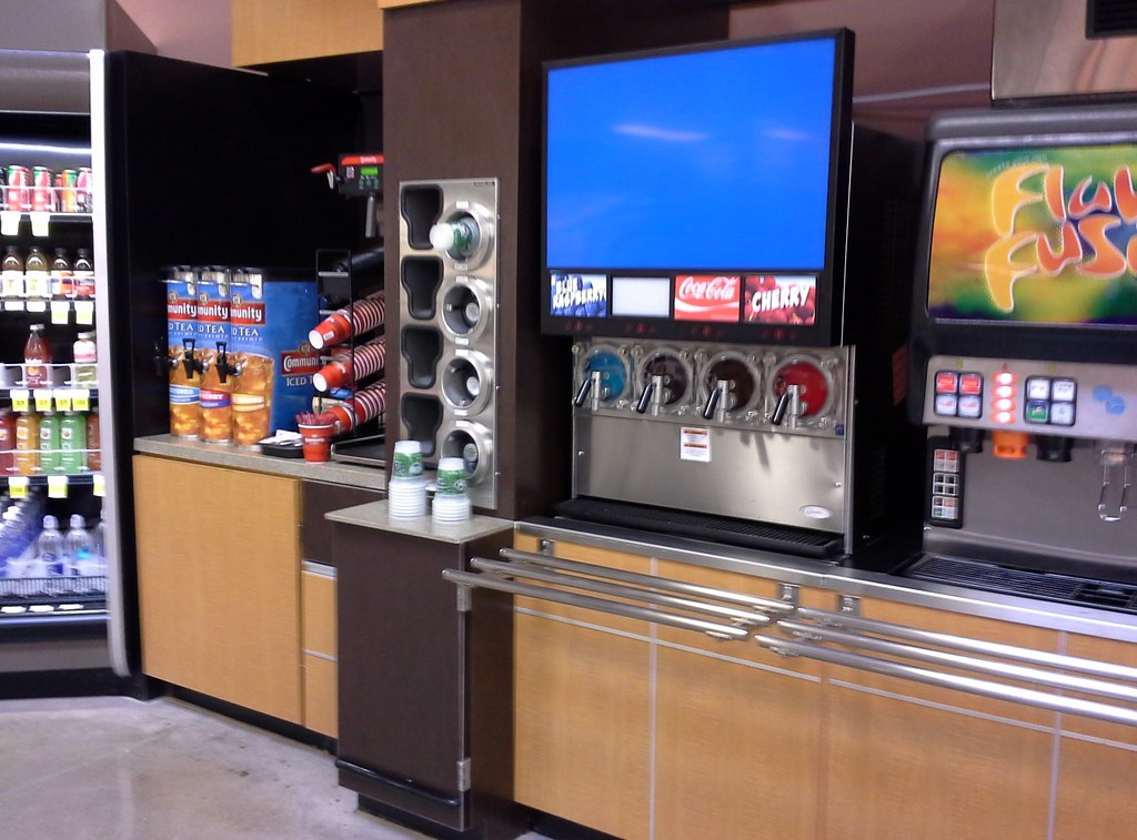 Beverage Area Completed Fire Up That Icee Slushie Machine
