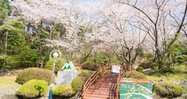 釜山自由行︱鎮海區、長福山雕刻公園.賞櫻聖地的雪櫻祕境