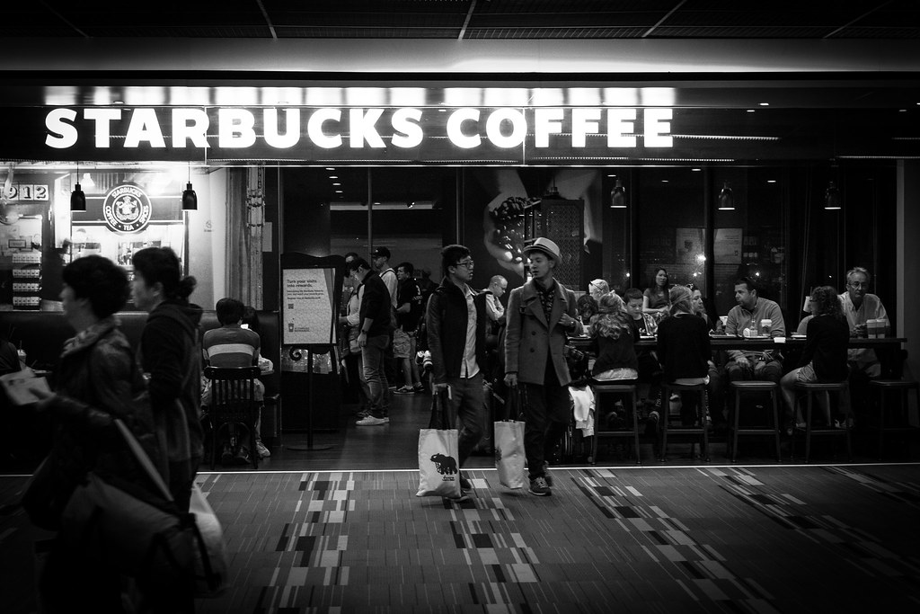 Starbucks Coffee Airport