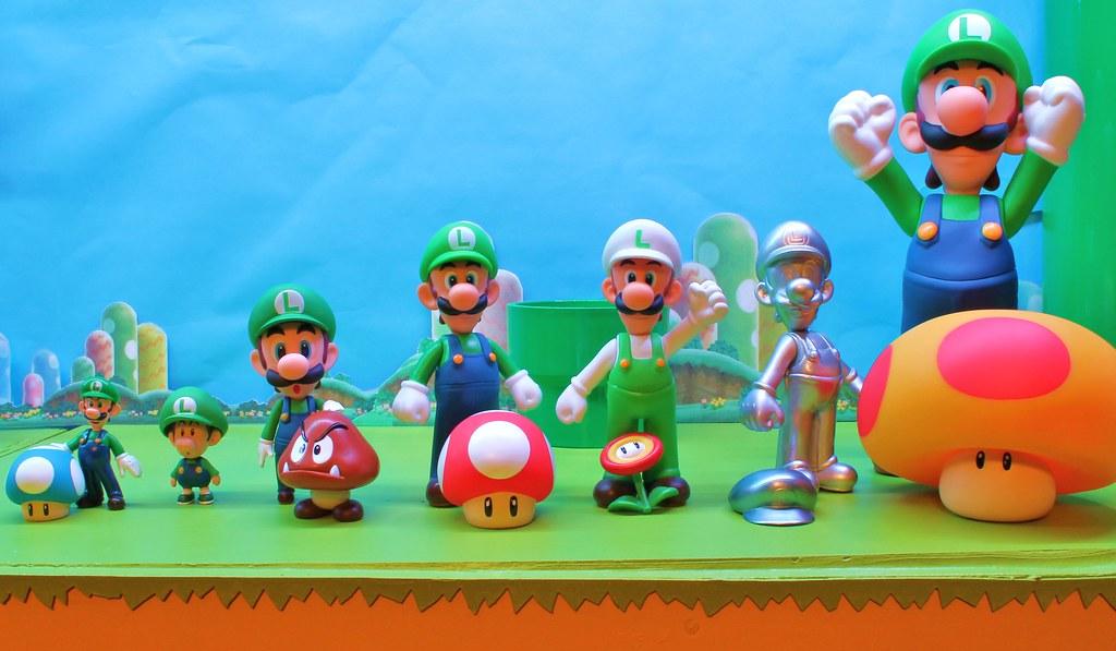 Spectrum Of Luigi Mini Luigi Mini Mushroom Baby Luigi