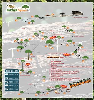 Brochure Flying Squirrels Zipline Chiang Mai Thailand 02