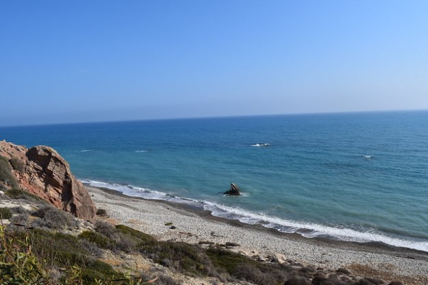 Beach Near Aphrodite's Rock