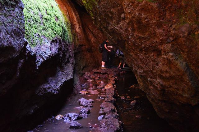 flooded path in Bear Gulch Cave