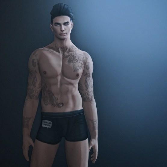 NX-Nardcotix David Male Mesh Body