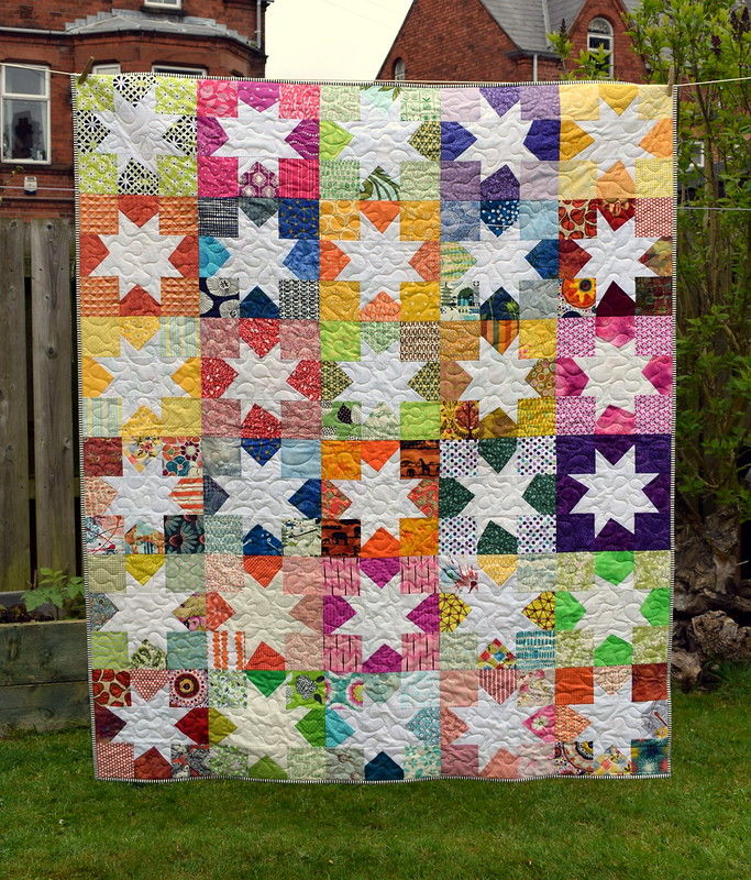 Siblings Together Wonky Star Quilt - Just Jude Designs - Quilting ... : wonky quilt - Adamdwight.com