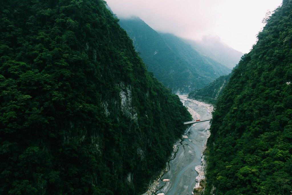 Desfiladero del Parque Natural de Taroko