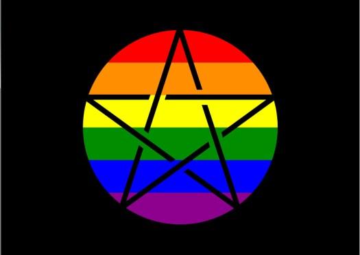Bandera de los paganos queer