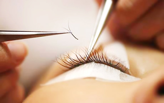 Eyelash Extension Application