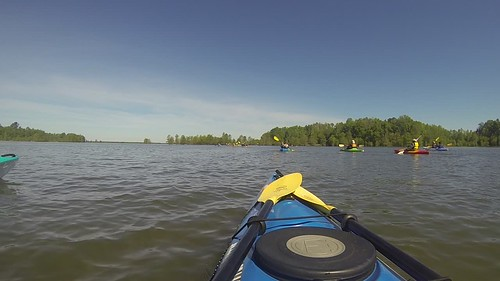 Paddling to Church Island