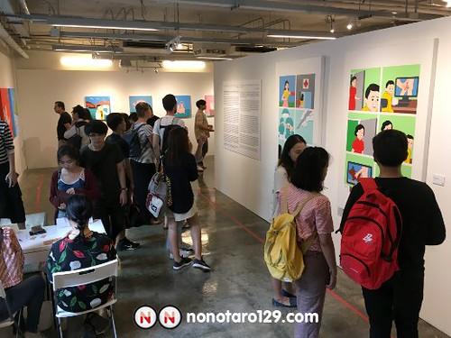 Joan Cornellà Bangkok Solo Exhibition 01