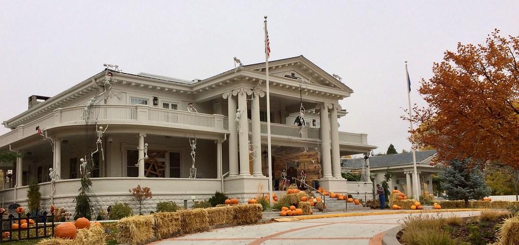 Nevada Governor's Mansion Haloween