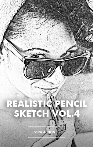 Special Sketch Photoshop Action - 104