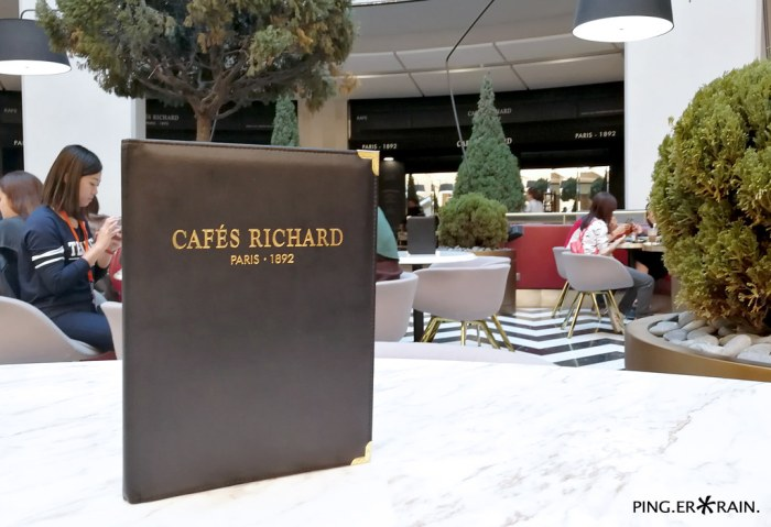 Cafe Richard Menu