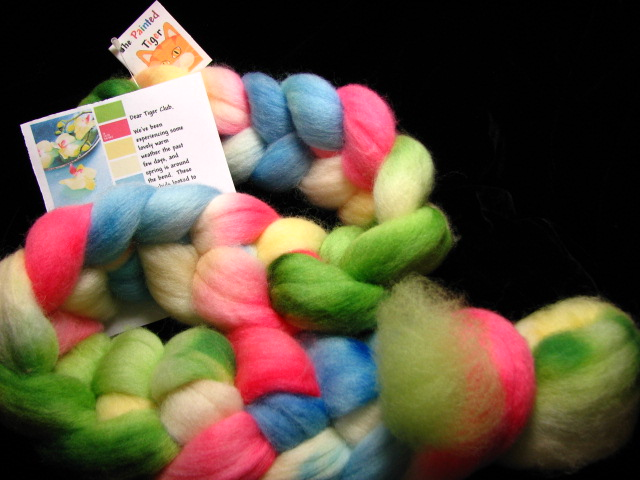 Orchid Falkland Wool - February 2017 Tiger Club