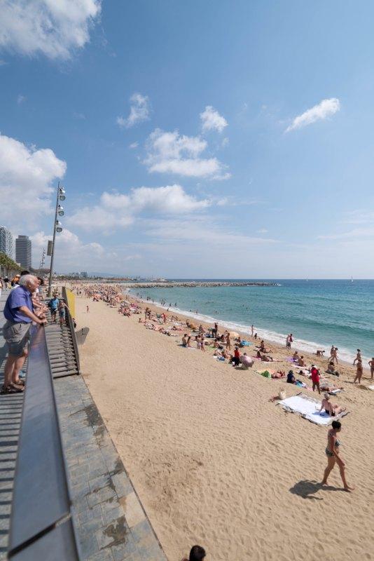 Barcelona playa Spain