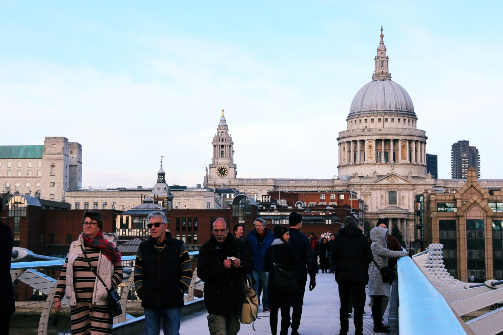 11 Dec 2016: Millennium Bridge | London, England_